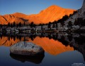 Cottonwood Lakes - Dawn Reflection print