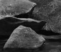 Merced River Boulders print