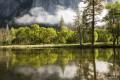 Merced River Reflections print