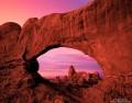 View Through Window Arch  print
