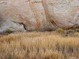 Utah, grass, wall