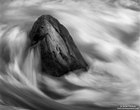 rock, river, yosemite, national park, merced
