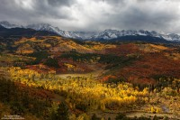 Mt., Sneffels, Obscured,Clouds, San Juan, Mountains, Colorado