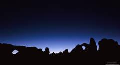 arches, national, park, moab, utah, window, turret