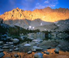 Eastern, Sierra, Nevada, California, baboon, lake