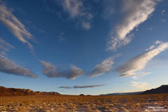 death valley, national, park, big, sky