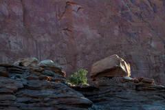 Boulders On A Ledge