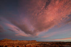 Cloud Over The Buttes