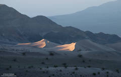 dune, sunrise, death valley, national park, glow