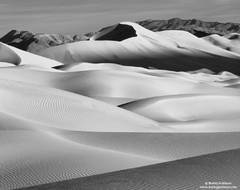 death valley, dune, national park