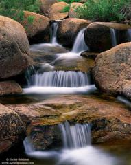 deadman's, creek, falls, sierra, nevada, ca, sonora, pass