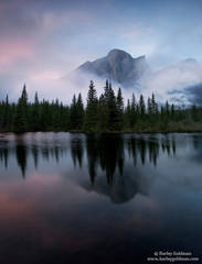 Kananaskis, Country, Calgary, Canada, reflection