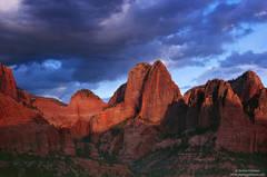 Zion, National Park, Utah, kolob