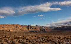 morning, striped, butte, death, valley, national, park