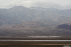 Rain And Clouds Across Death Valley