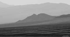 hazy, death, valley, national, park,