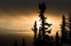 Sunrise Over The Wrangell Mountains