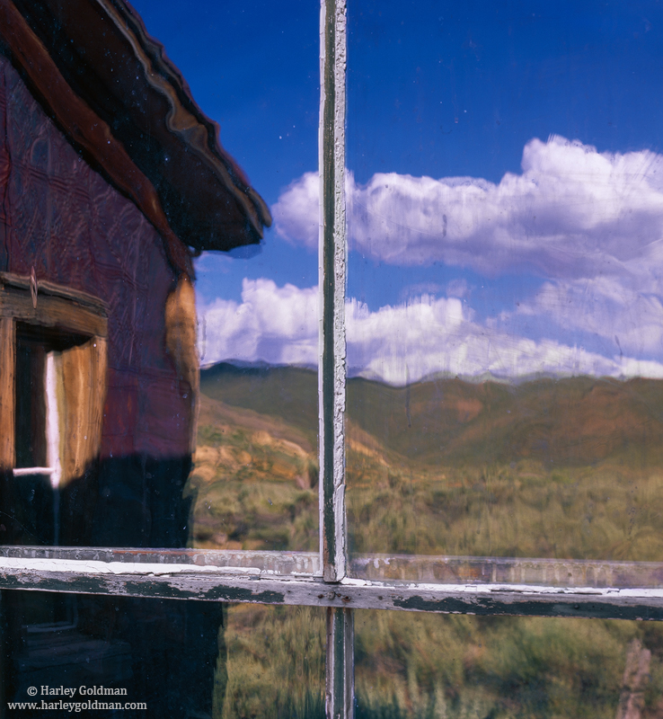 reflection, bodie, state, park, photo