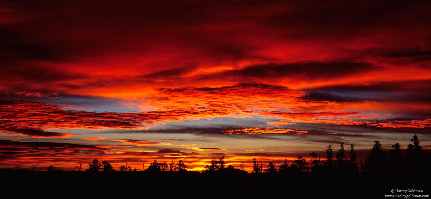 Bryce, National Park, Utah, point, sunrise, photo