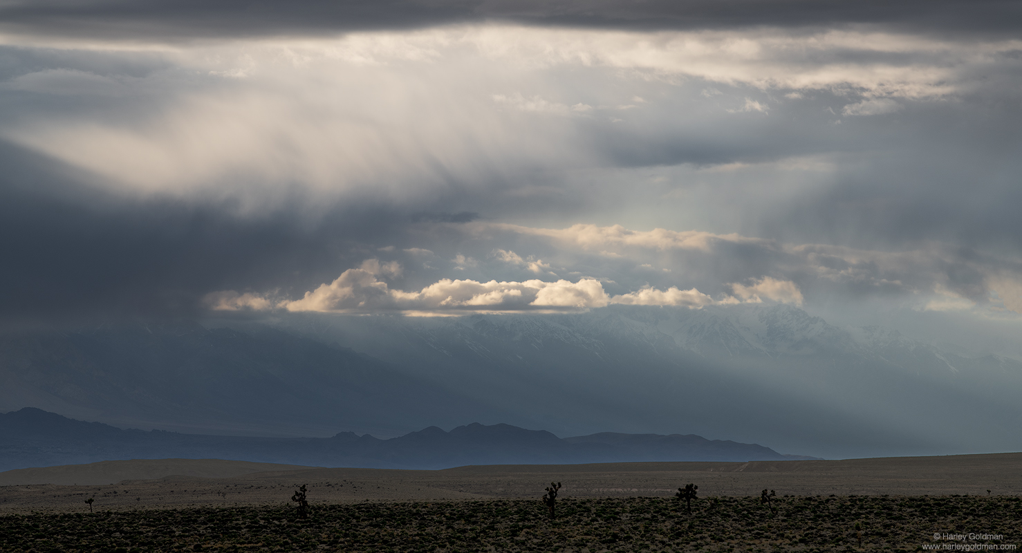 death, valley, cloud, light, photo