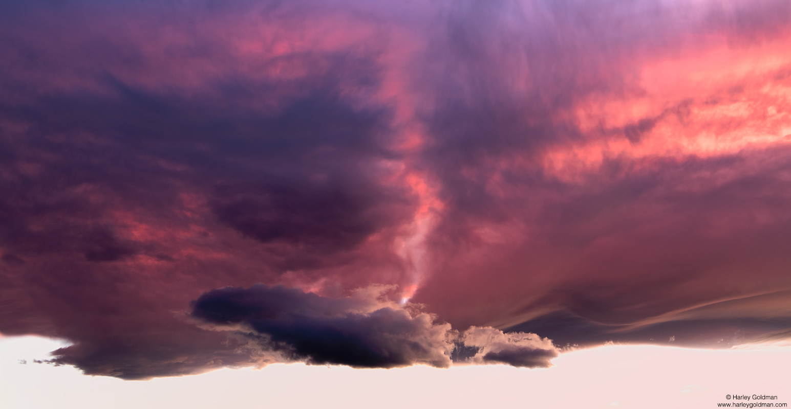 death valley, cloud, pyre, desert, sunset, evening, lenticular