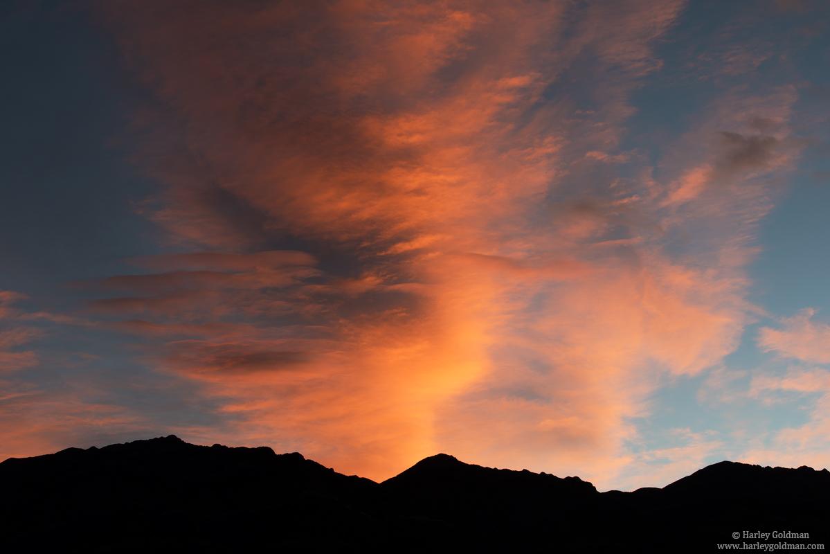 death valley, national, park cloud, photo