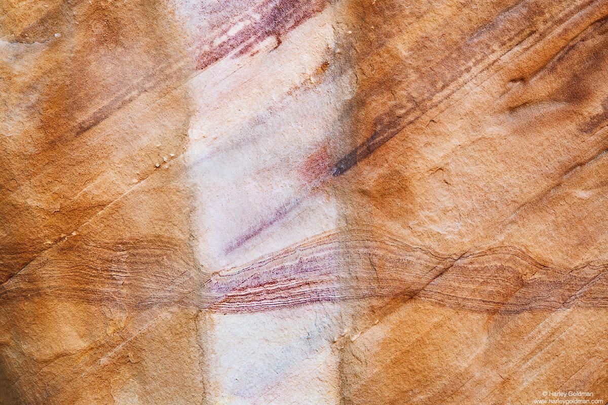 Nevada, desert, sandstone, stripe