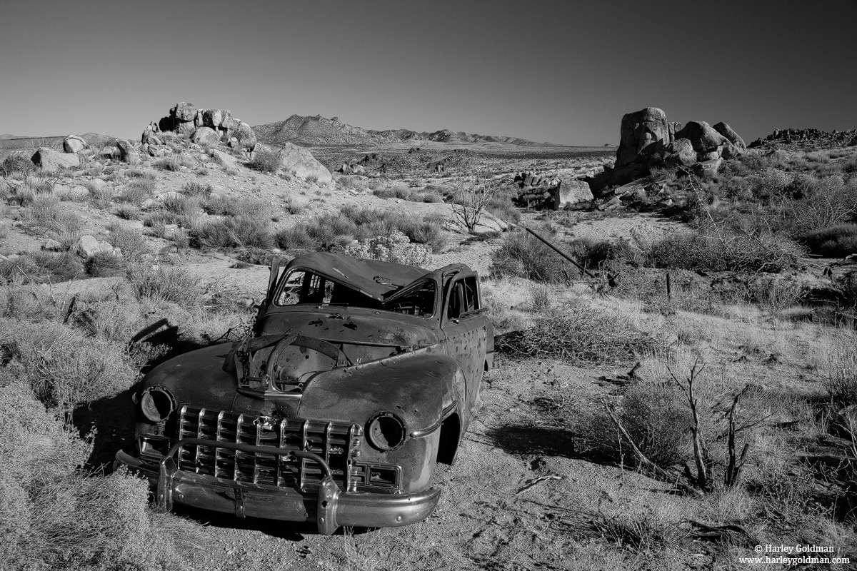 mojave, desert, preserve, car, mine, photo