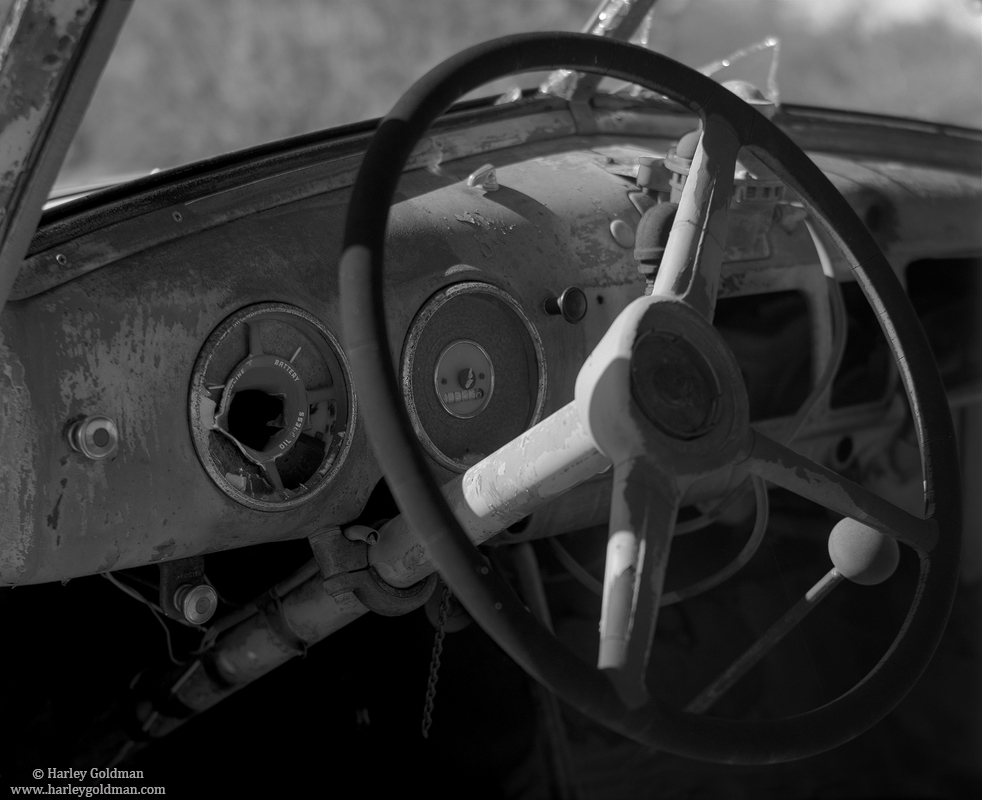 mojave, national, preserve, pickup, truck, dashboard, photo
