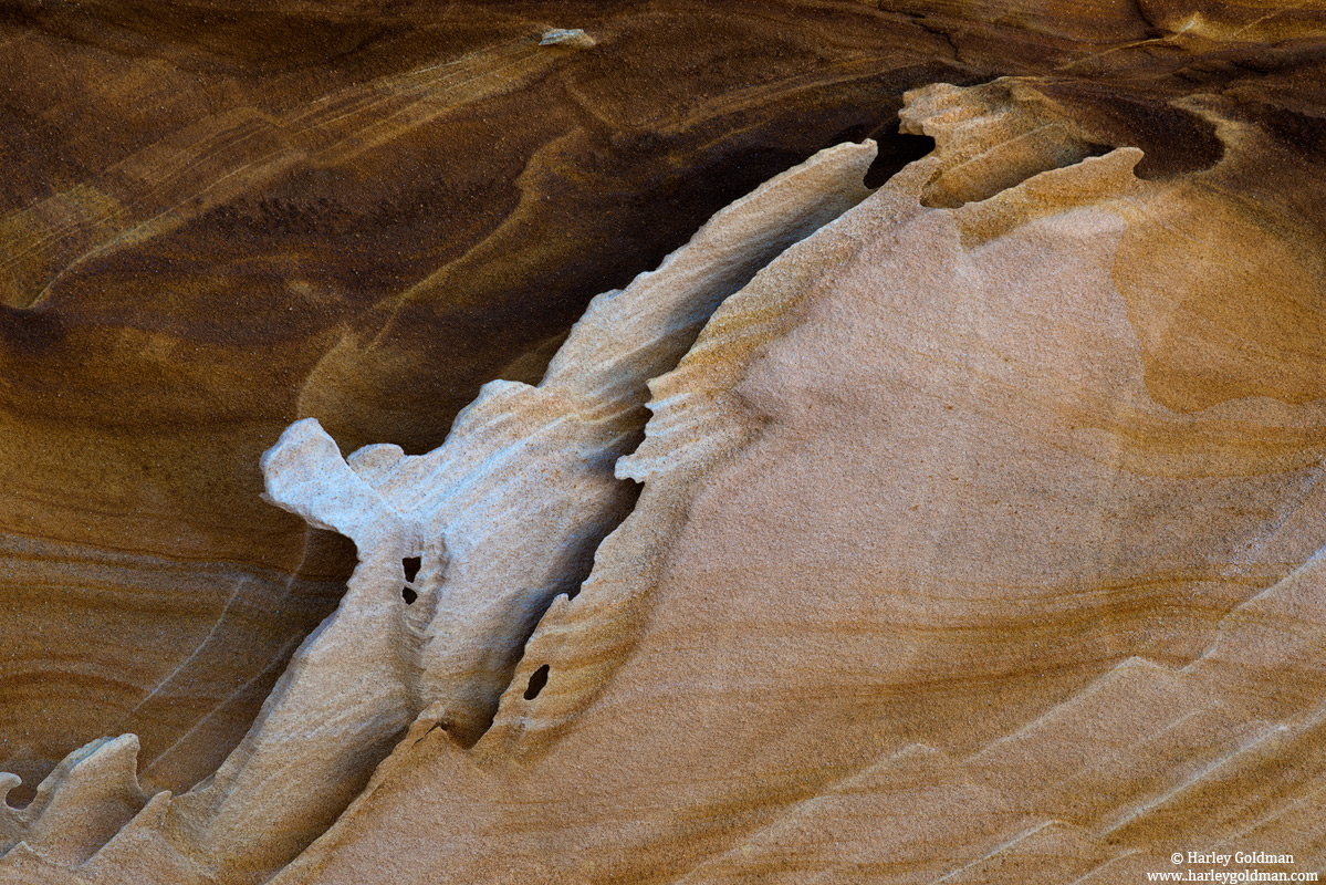Arizona, sandstone, fin, photo