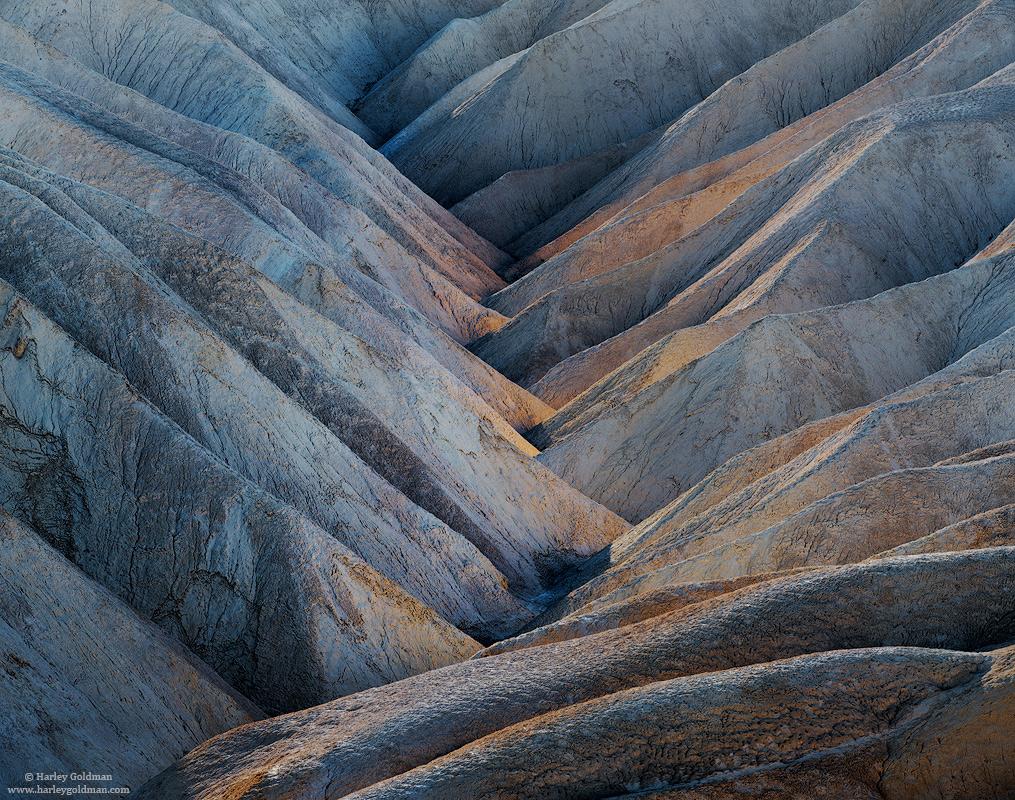 death valley, national, park, desert, crevice, badlands, hills