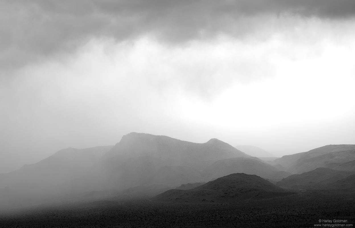 Dreamland, death valley, cloud, clouds, fog, mountain, mountains, desert, hills