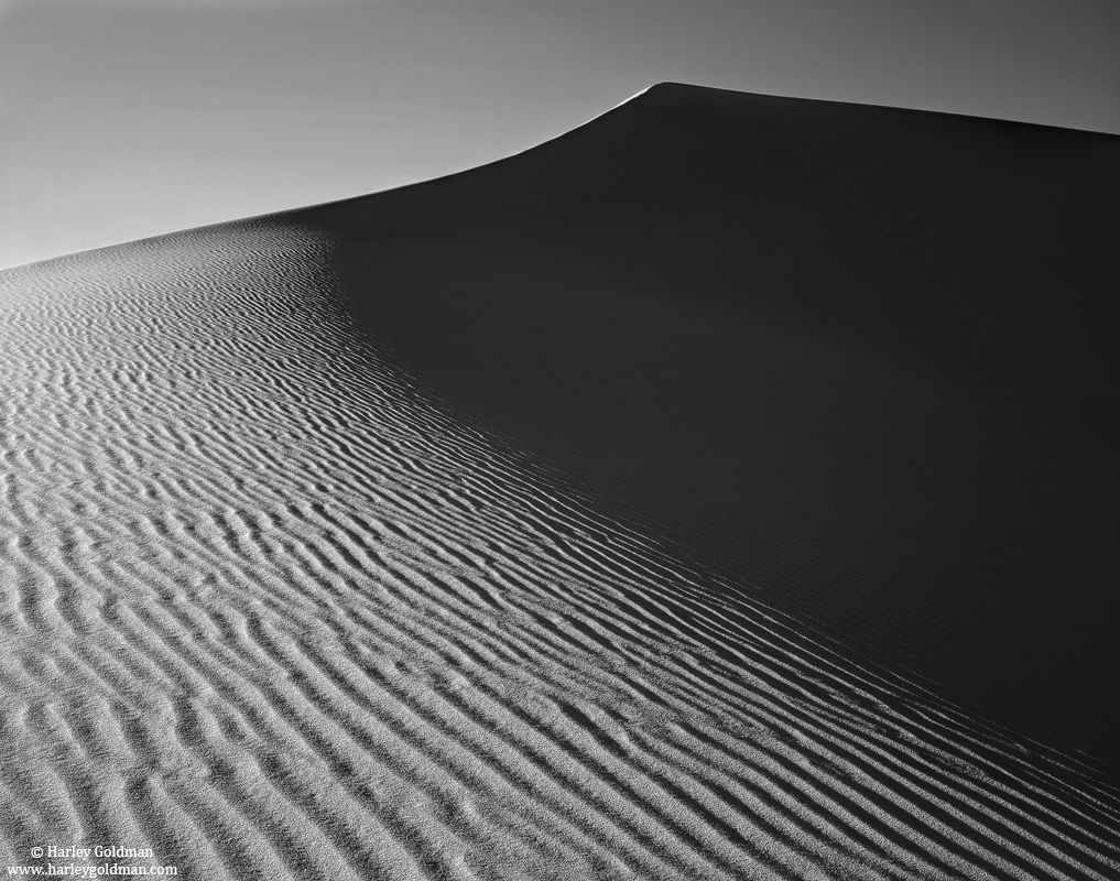 Death Valley, National Park, California, dune, photo