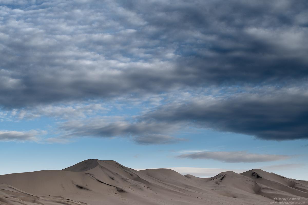 death valley, national, park, dune, cloud, morning, sunrise, desert