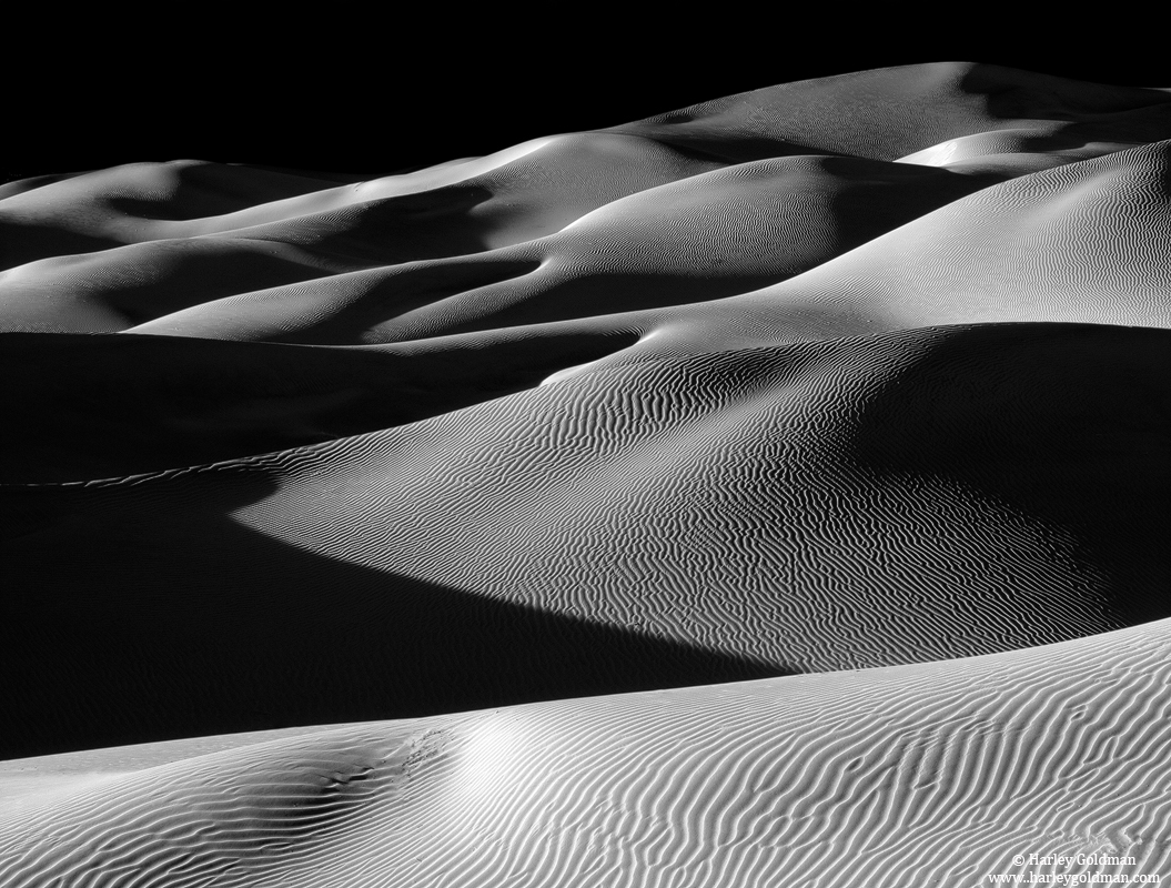 death valley, national park, dune, shadow, photo