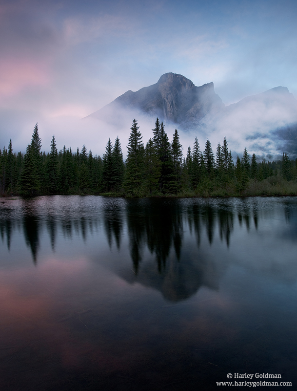 Kananaskis, Country, Calgary, Canada, reflection, photo