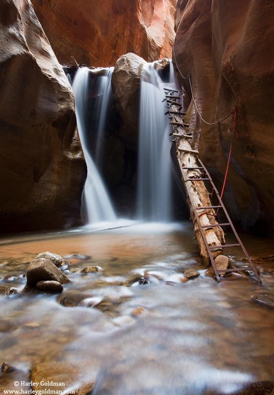 southern, utah, ladder, photo