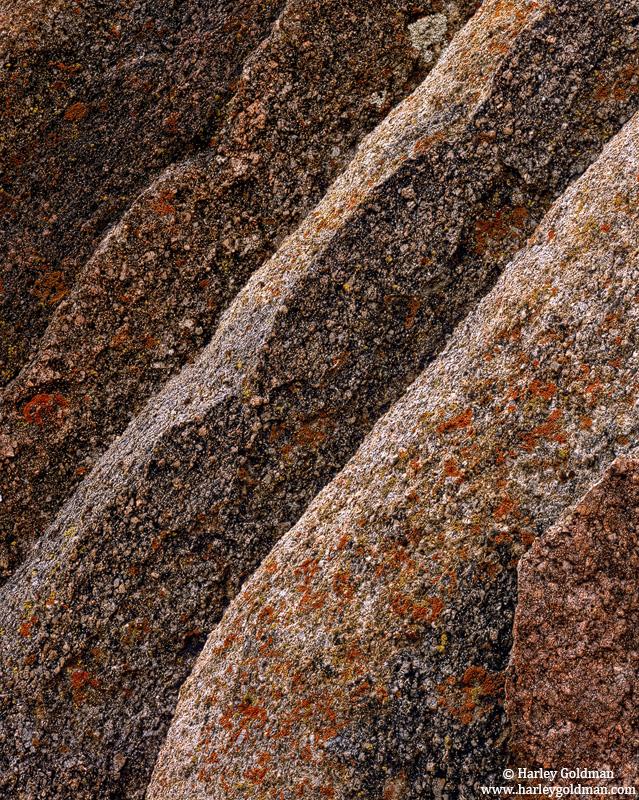 alabama hills, lone pine, ca, granite, layered, photo