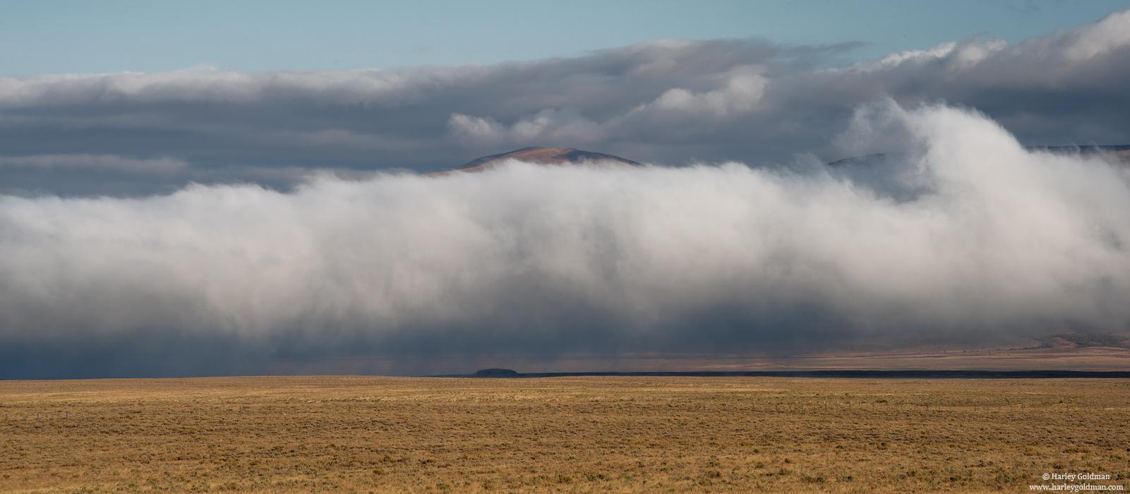 clouds, Montana, photo
