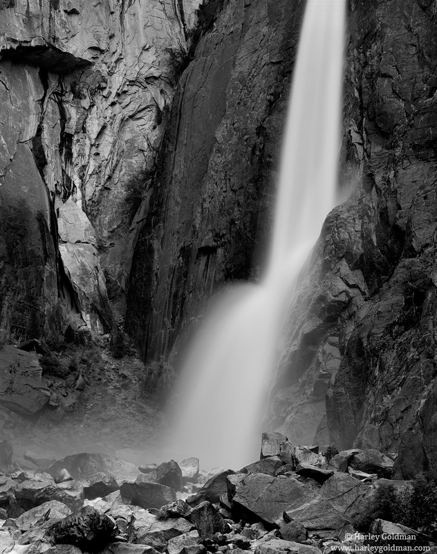 lower, yosemite, falls, national, park, photo