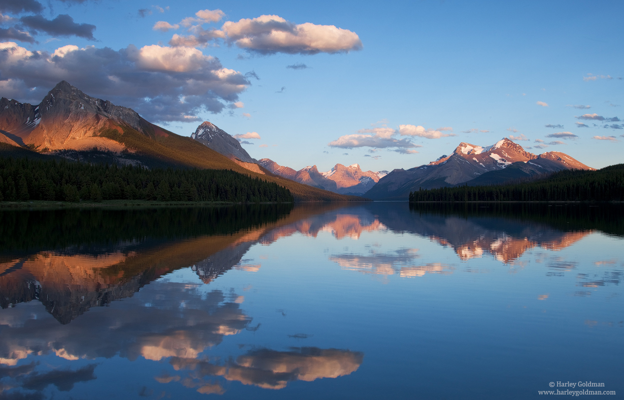 Jasper, National Park, Alberta, Canada, maligne, lake, photo