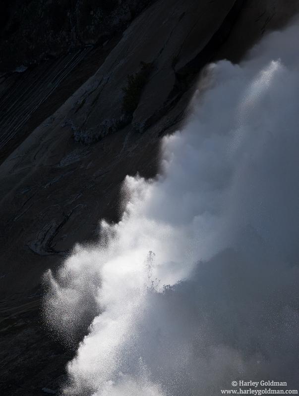 nevada, falls, thunder, yosemite, national, park, photo