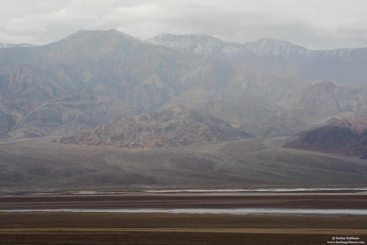 death valley, national, park, rain, cloud, mountain, desert