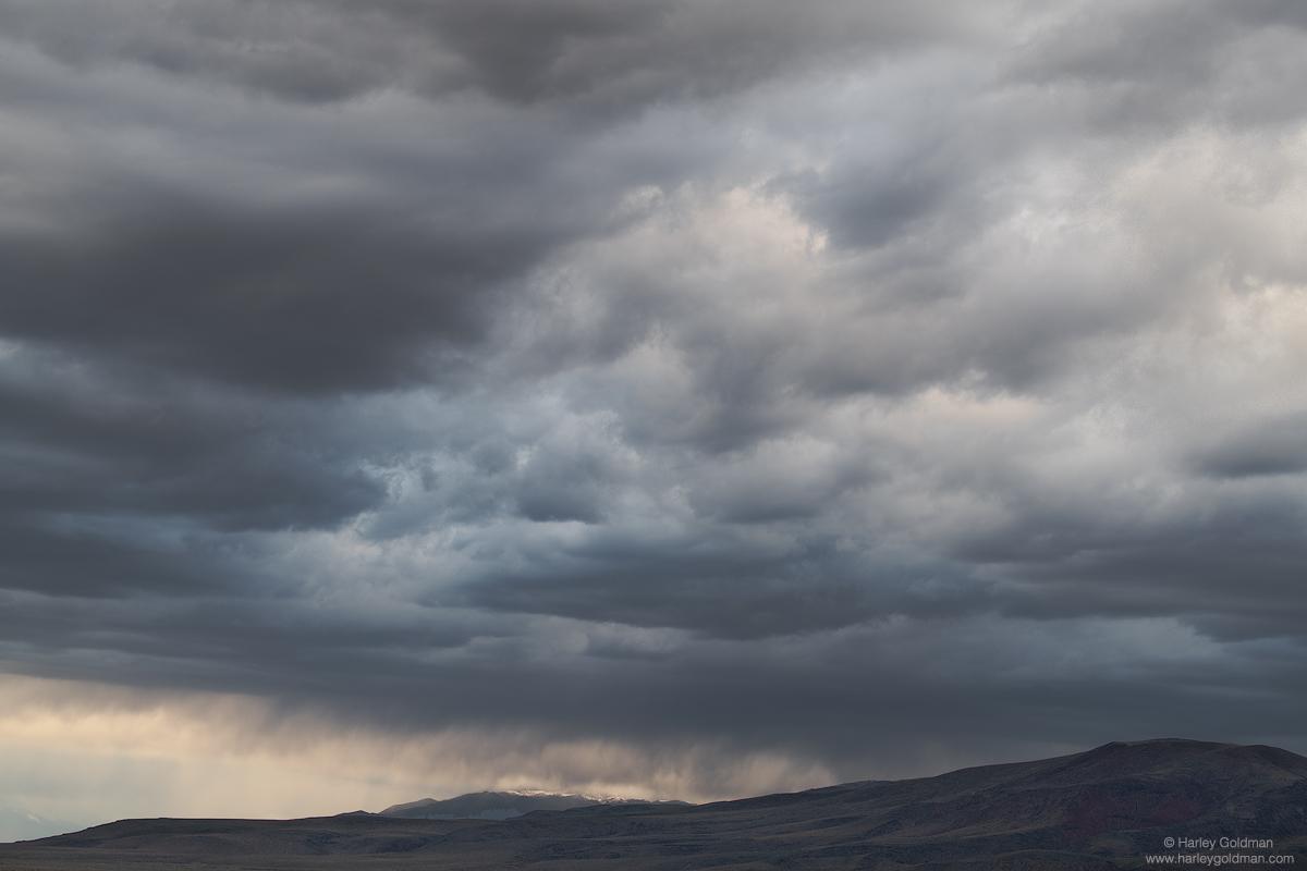 death valley, rain, cloud, clouds, mountain, desert, mountains, storm, hill