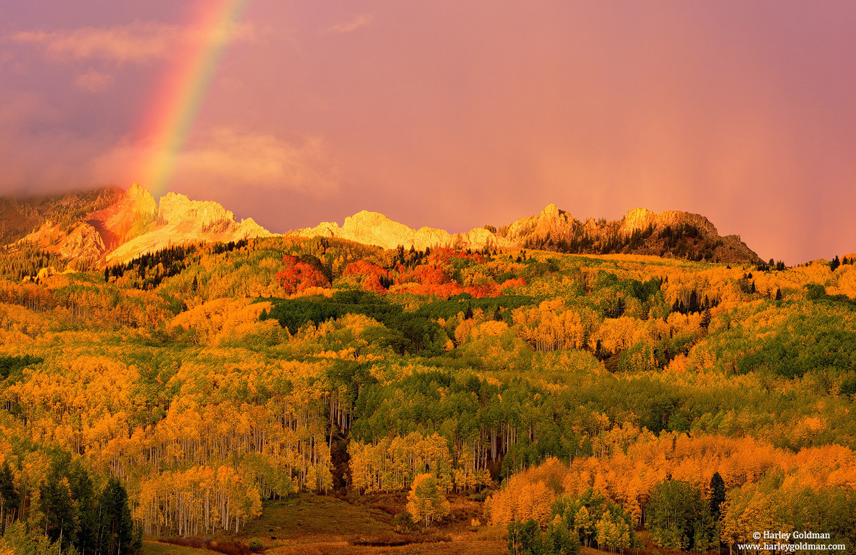 rainbow, dyke, kebler, pass, colorado, photo