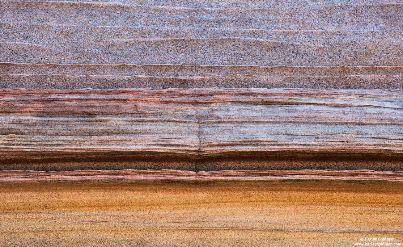 arizona, rainbow, sandstone, stone, rock, color, stripe, layer, photo