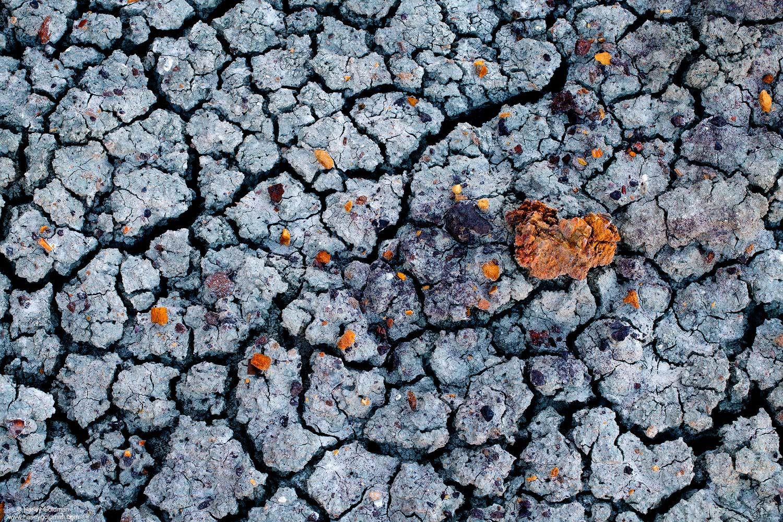 Utah, rock, bentonite, crack, abstract