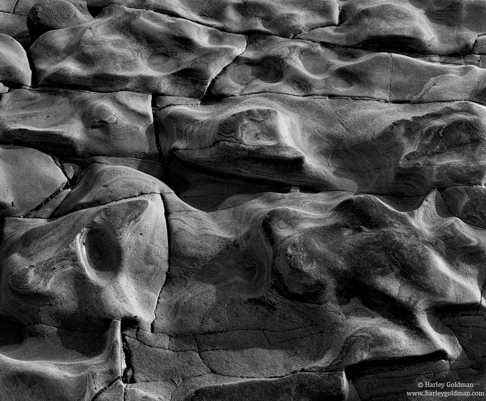 low tide, rock, abstract, santa barbara, CA, photo
