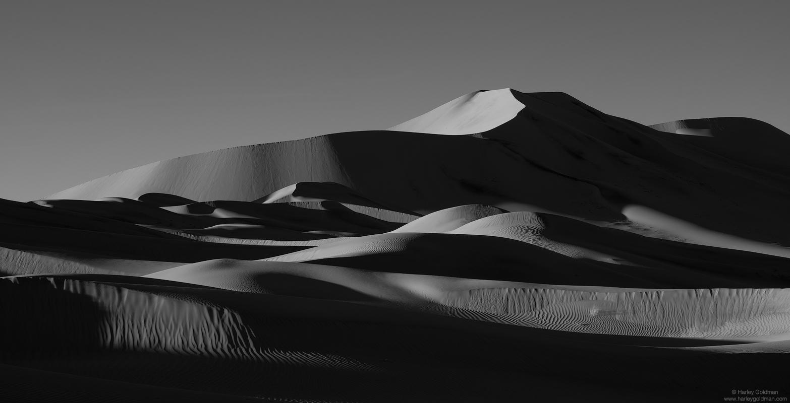 death valley, national, park, dune, desert, sand, winter