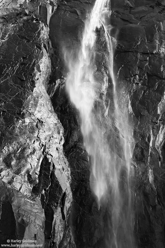 bridalveil, falls, yosemite, national, park, granite, waterfall, photo